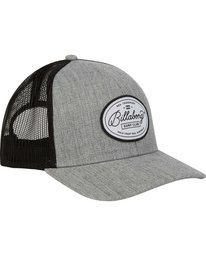 2 Walled Trucker Hat Grey MAHWNBWA Billabong