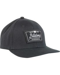 2 Walled Stretch Fit Hat Black MAHWNBWD Billabong