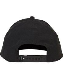 3 Surftrek Snapback Hat Black MAHWPBAS Billabong