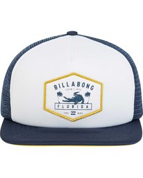 1 Florida Trucker Hat Blue MAHWPBFL Billabong
