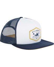 2 Florida Trucker Hat Blue MAHWPBFL Billabong