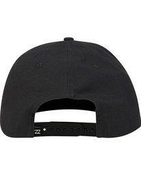 3 Primary Snapback Hat Black MAHWPBPR Billabong