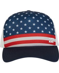 1 Range Trucker Hat  MAHWPBRA Billabong