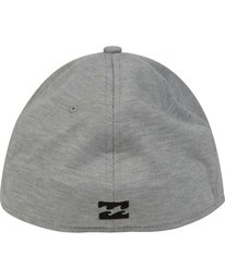 3 United Stretch Hat Grey MAHWPBUN Billabong