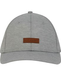 1 United Stretch Hat Grey MAHWPBUN Billabong