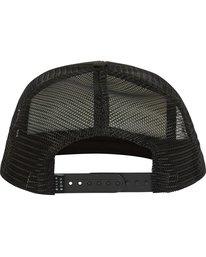 3 Upgrade Trucker Hat Black MAHWPBUP Billabong