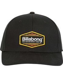 1 Walled Stretch Hat Black MAHWPBWD Billabong