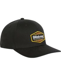 2 Walled Stretch Hat Black MAHWPBWD Billabong