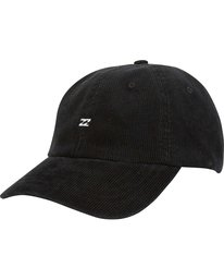1 All Day Lad Cord Cap Black MAHWQBAC Billabong