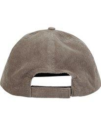 3 Re-Issue Cord Hat Grey MAHWQBRC Billabong