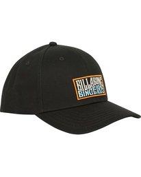 2 Walled Snapback Hat Black MAHWQBWS Billabong
