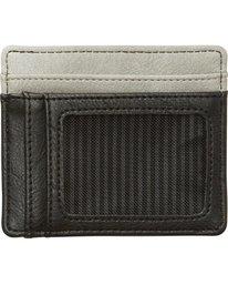 1 Dimension Card Holder Wallet Grey MAWTNBDC Billabong