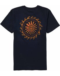 1 Dreamwheel Tee Blue MT10NBDW Billabong