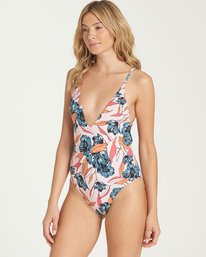 1 Coastal Luv One Piece Swim Pink X102NBCO Billabong