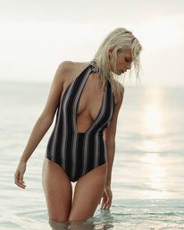 0 Away We Go One Piece Swim Black X112NBAW Billabong