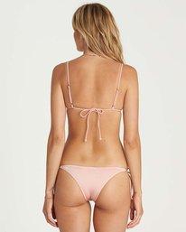 1 Sol Searcher Tie Side Isla Bikini Bottom Pink XB01LSOL Billabong