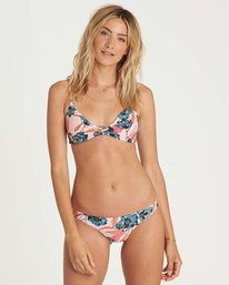 3 Coastal Luv Tanga Bikini Bottom Pink XB03NBCO Billabong