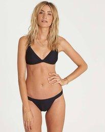 1 Tanlines Tropic Bikini Bottom Black XB18NBTA Billabong