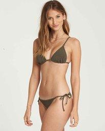 1 No Hurry Tie Isla Bikini Bottom Green XB19QBNO Billabong