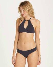 1 Sol Searcher High Neck Bikini Top Black XT01MSOL Billabong