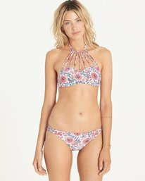 0 Vaga Floral High Neck Bikini Top  XT04LVAG Billabong