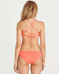 2 Sol Searcher Crossback Bikini Top Red XT05JSOL Billabong