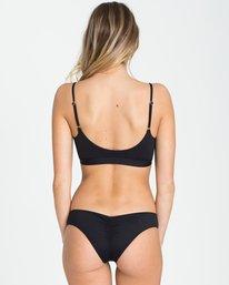 2 Sol Searcher Tie Tank Bikini Top Black XT05QBSO Billabong