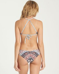 3 Blissed Out Reversible Fixed Tri Bikini Top  XT11NBBL Billabong