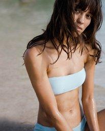 0 Tanlines Bandeau Bikini Top Blue XT14PBTA Billabong