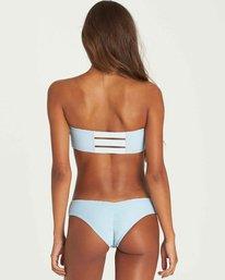 3 Tanlines Bandeau Bikini Top Blue XT14PBTA Billabong