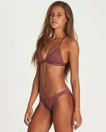 1 Way To Love Tri Bikini Top Purple XT15NBWA Billabong