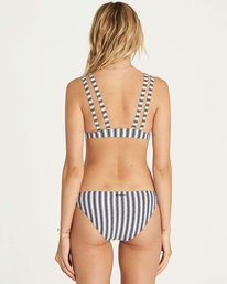 2 Get In Line Banded Tri Bikini Top  XT17NBGE Billabong