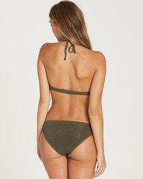 3 No Hurry Halter Bikini Top Green XT23QBNO Billabong