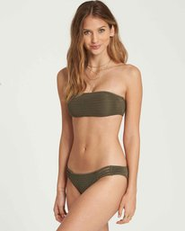 1 No Hurry Bandeau Bikini Top Green XT24QBNO Billabong