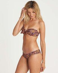2 Sun Tribe Knot Me Bandeau Bikini Top  XT32NBSU Billabong