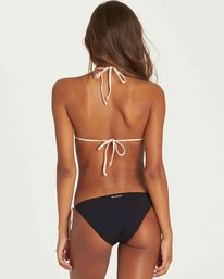 2 Just A Hint Halter Bikini Top Black XT33PBJU Billabong