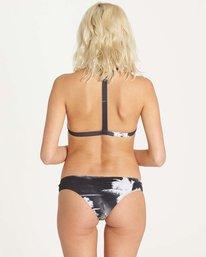 2 Warholsurf High Neck Bikini Top Black XT34LWAR Billabong