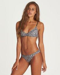 2 Sun Tribe Reversible Trilet Bikini Top Black XT35NBSU Billabong