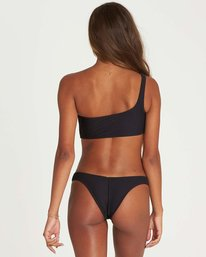 2 Tanlines One Shoulder Bikini Top Black XT42NBTA Billabong
