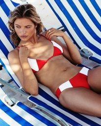 0 Always Free Triangle Bikini Top Red XT44PBAL Billabong