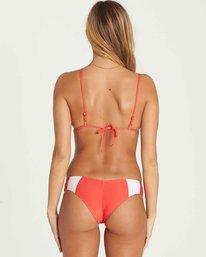 6 Always Free Triangle Bikini Top Red XT44PBAL Billabong