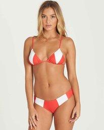 5 Always Free Triangle Bikini Top Red XT44PBAL Billabong