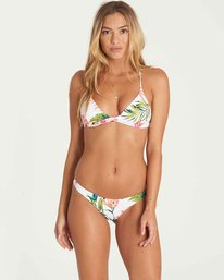 1 Island Hop Fixed Tri Bikini Top Yellow XT51PBIS Billabong
