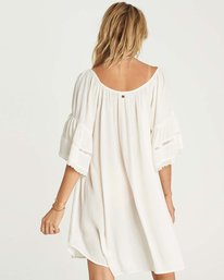 2 Far Off Star Cover Up Dress Beige XV03NBFA Billabong