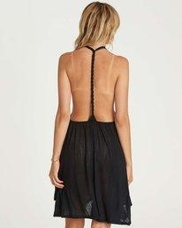 2 Twisted View T-Back Sun Dress Black XV04NBTW Billabong