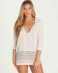 0 Same Story Cover Up Dress  XV10PBSA Billabong