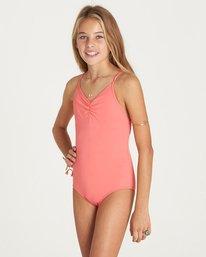 1 Girls' Sol Searcher One Piece Swim Pink Y101LSOL Billabong