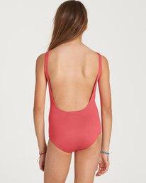 1 Girls' Sol Searcher One Piece Swim Pink Y101NBSO Billabong