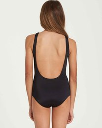 2 Girls' Waves For Days One Piece Swim Black Y102QBWA Billabong