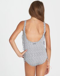 2 Girls' Boho Babe One Piece Swim Black Y103KBOH Billabong